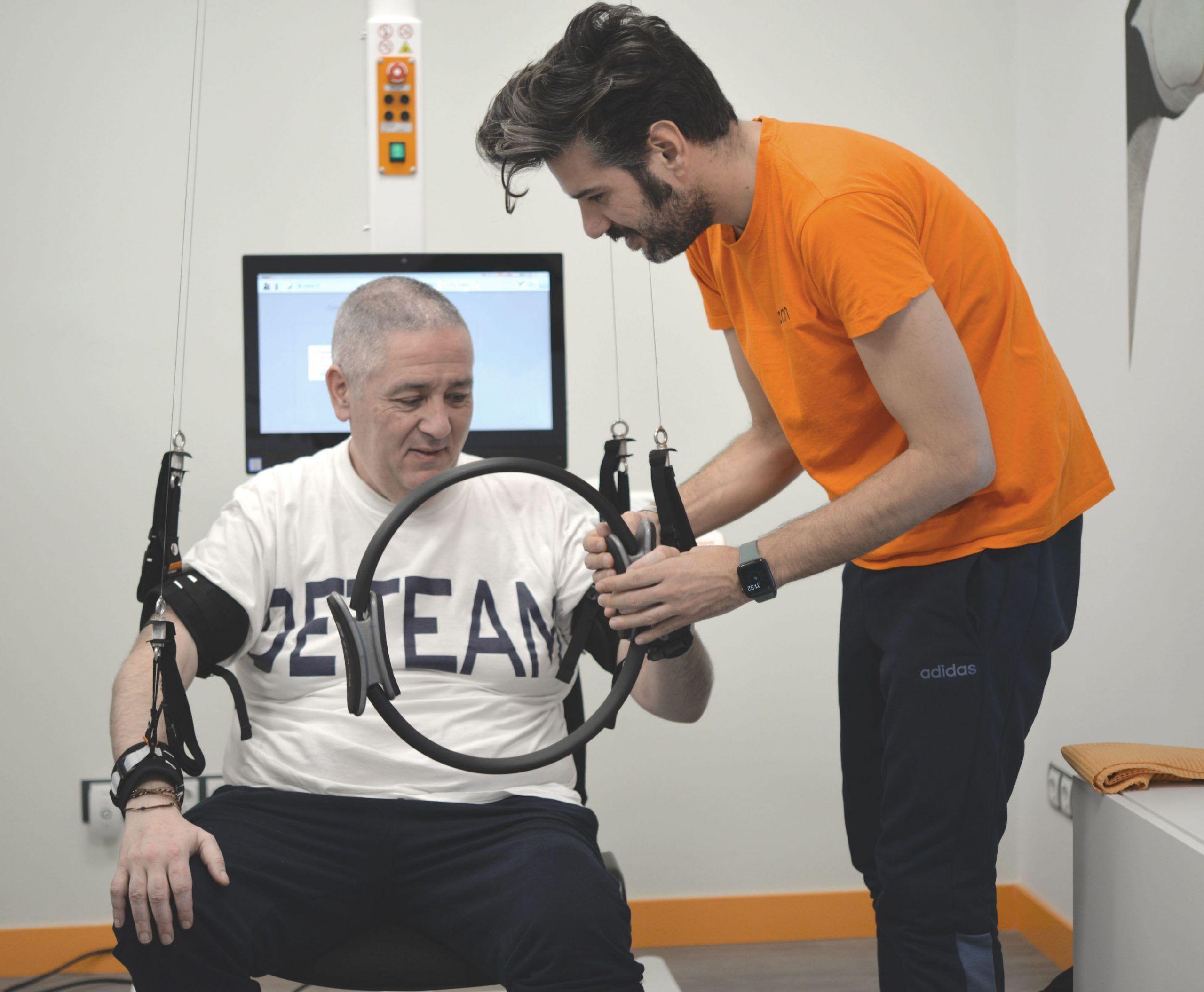 Terapia neurorehabilitacion robotica Neuron